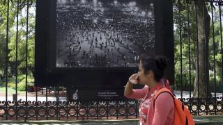 Recrean fotografías de Héctor y María García comienzos del 68 con exposición en las Rejas de Chapultepec